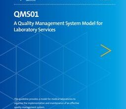 خرید استاندارد CLSI QMS01 دانلود استاندارد A Quality Management System Model for Laboratory Services, 5th Edition, QMS01Ed5E