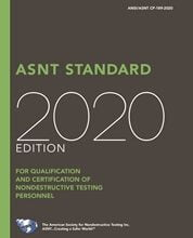 خرید استاندارد ASNT CP-189 دانلود استاندارد ASNT Standard for Qualification and Certification of Nondestructive Testing Personnel