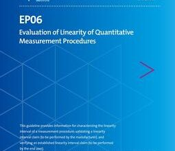 خرید استاندارد CLSI EP06 دانلود استاندارد Evaluation of Linearity of Quantitative Measurement Procedures ISBN(s):9781684400966