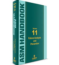 خرید ایبوک ASM Handbook Volume 11 Failure Analysis and Prevention هندبوک آنالیز شکست ISBN: 978-1-62708-293-8