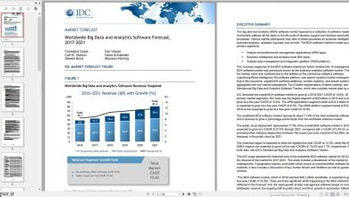 Photo of خرید گزارش IDC از Worldwide Big Data and Analytics Software