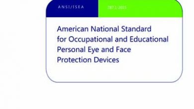 Photo of دانلود استاندارد ISEA Z87.1 خرید Occupational And Educational Personal Eye And Face Protection Devices